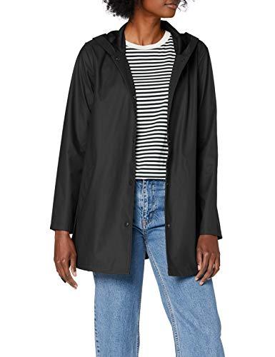 JdY Damen JDYSHELBY Belt Raincoat OTW NOOS Jacke, Black, XS