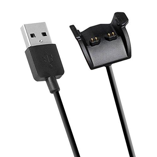 Emilydeals Compatible with Garmin Vivosmart HR Plus Charger, Charging Cable for Garmin Vivosmart HR/Vivosmart HR+ (Black)