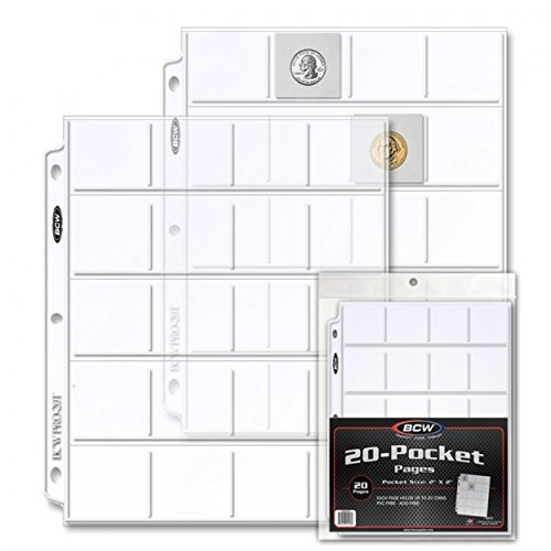 BCW Pro 20-Pocket Page Box (20 Count)