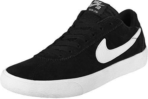 Nike Damen WMNS Sb Bruin Low Sneakers, Schwarz (Black/White/White 001), 44.5 EU