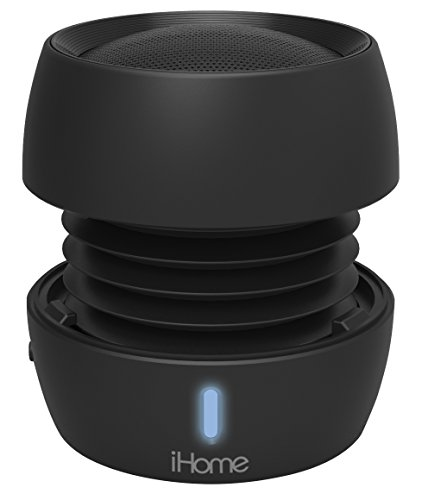 iHome iBT72 Rechargeable Bluetooth Mini Speaker System (Black)