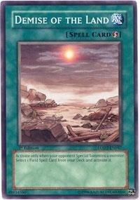 Yu-Gi-Oh! - Demise of The Land (LODT-EN047) - Light of Destruction - 1st Edition - Common