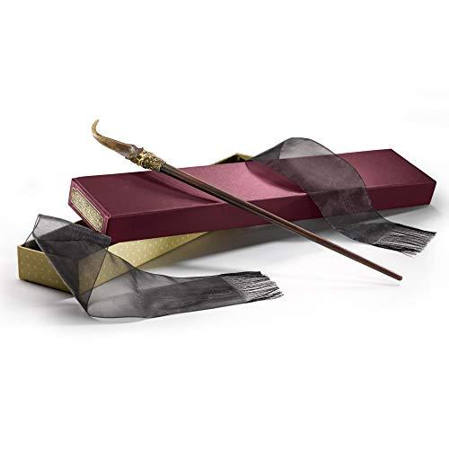 The Noble Collection Bacchetta Magica Nicolas Flamel in Scatola da Collezione Prodotta Bacchetta Magica di Nicolas Flamel di Alta qualità 36 cm - Animali Fantastici