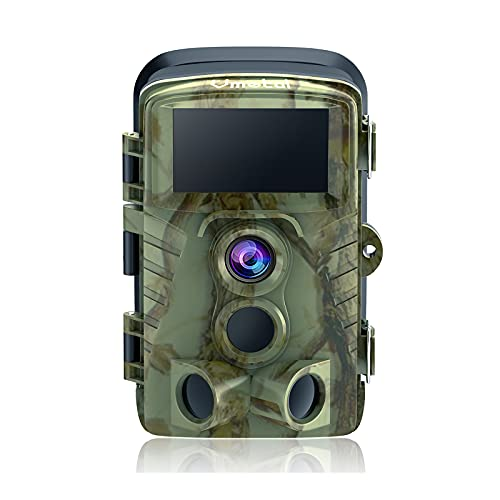 """Trail Camera Game Cam with Night Vision Motion Activated Waterproof Wildlife Hunting Monitoring 20MP Photo 4K Video 120° Detecting Range 0.2s 2.4"""" LCD 40pcs IR LEDs Infrared Outdoor Cam Deer Scouting"""