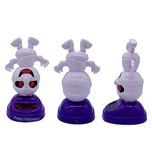 Cyhamse 3 muñecas solares, figuras de dibujos animados, muñecos solares, para el alféizar de la ventana, el coche o la oficina