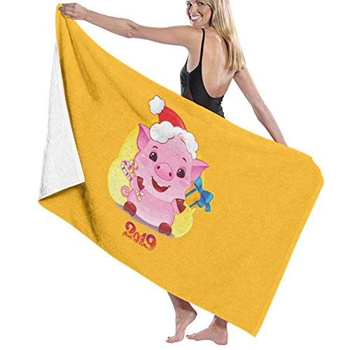 U/K Toalla de baño de cerdo de secado rápido