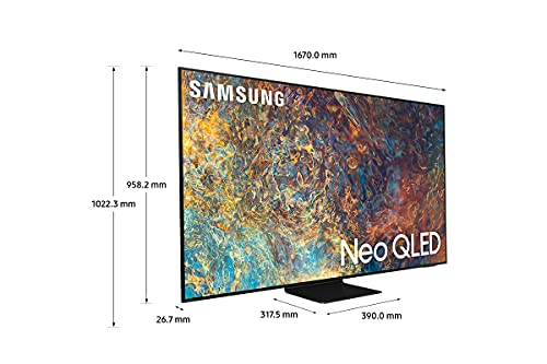 Samsung TV Neo QLED QE75QN90AATXZT, Smart TV 75