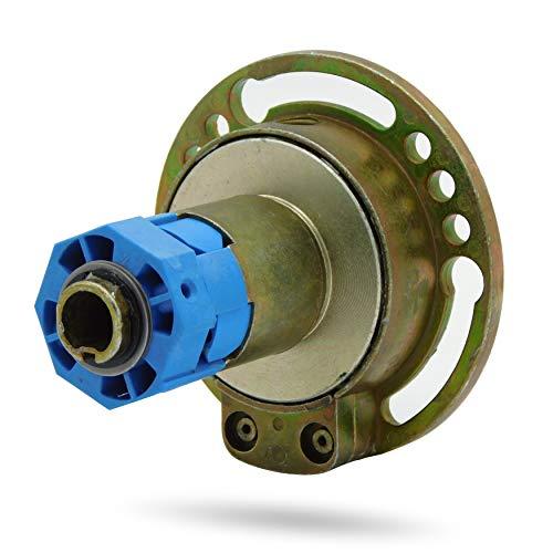 Kegelradgetriebe Rolladengetriebe Kurbelgetriebe Rollladengetriebe   Untersetzung 4:1  Freilauf Rechts   Innensechskant 6 mm   SW40