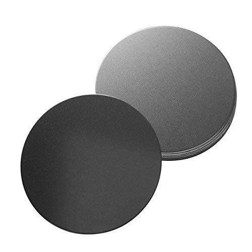 Hemobllo 10Pcs Mountmetal Platte für magnetische Autohalterung Halterung mit starkem Klebstoff