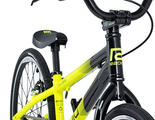 Radio Cobalt Junior 2019 Race BMX Fahrrad (18.5″ – Black/Neon Yellow) - 5