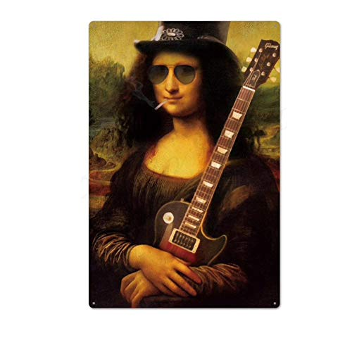 KUSTOM FACTORY - Piastra in acciaio Rock La Joconde Slash Guns N' Roses