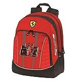 Zaino Organizzato Ferrari Kids 3 Cerniere Prodotto Ufficiale