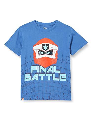 LEGO Mwa-T-Shirt Ninjago Camiseta, 580 Azul Oscuro, 140 para Niños