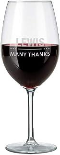 Copa de Vino Tinto Personalizada - Copa de Vino Tinto con No