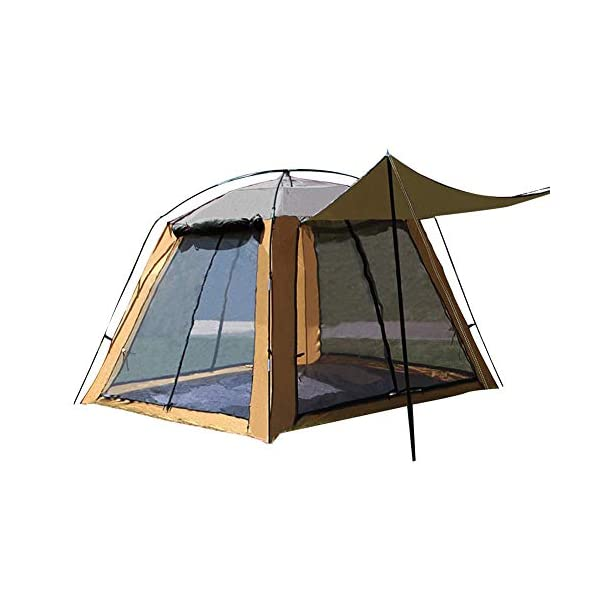Luminiu Outdoor Tent Camping Gauze Net Breathable Sunscreen Four-Sided -Protected Family Camping Tents