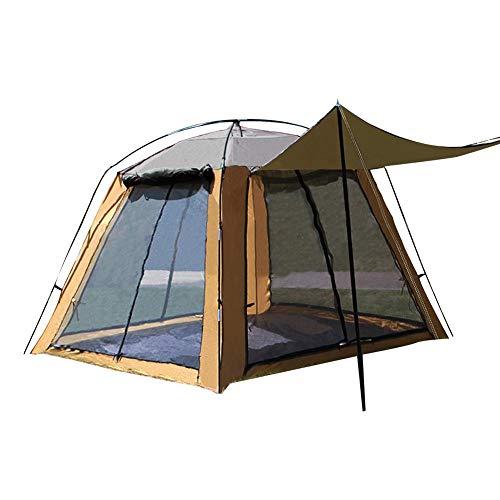 Tienda de campaña, 3 a 4 Personas, Tienda de Pesca, Red de Gasa, Filtro Solar Transpirable, Ventana de la Puerta de Cuatro Lados, Anti-Mosquito