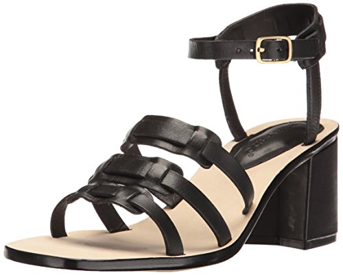 Bernardo Women's Santina Flat Sandal, Black, 7.5 M US