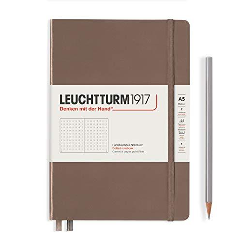 LEUCHTTURM1917 ノート A5 ドット方眼 ウォームアース 363395 正規輸入品
