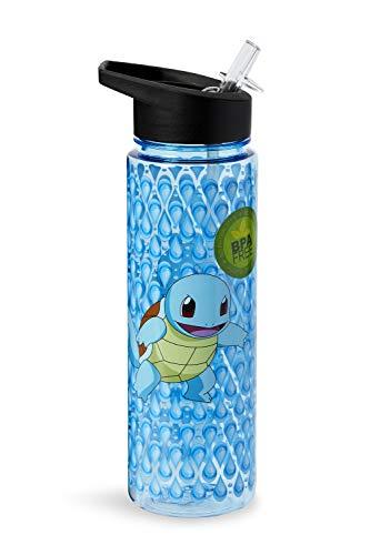 Pokemon Squirtle Flip Straw Cantimplora