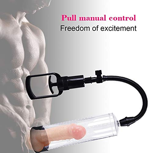 Handhled Pennis Vacuum Pump 9.4 Inch Pennis Enlargement Extender Pennis Growth Pump for Men Kassadinn Shop