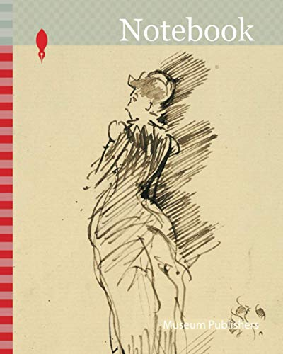 Notebook: Portrait of Miss Maud Franklin, 1883/1888, James McNeill Whistler, American, 1834-1903, United States, Pen and brown ink on cream laid paper