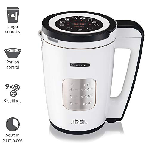 Morphy Richards Total Control Soup Maker 501020 White Soupmaker