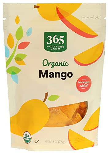 365 by WFM, Mango Slices Organic, 8 Ounce