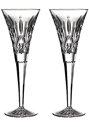 Waterford Lismore Toasting Flutes Set of 2