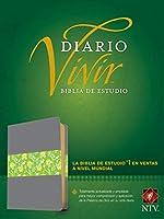Holy Bible: Biblia De Estudio Del Diario Vivir Ntv
