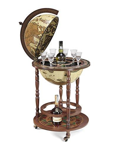 Bar Globe Art 42 / Marfil *hecho en Italia* con certificado de autenticidad