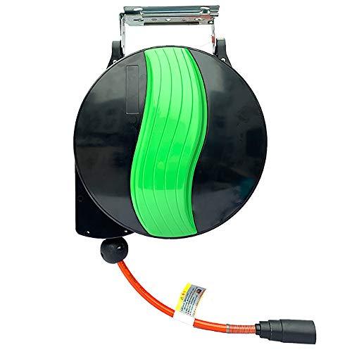Ramingt-Home Tuinroller, 180 graden, automatische rotatie, herwind, tuinslang, spoel, autowassen, tuinslang, automatische oproling, kabelhaspel, tuingereedschap