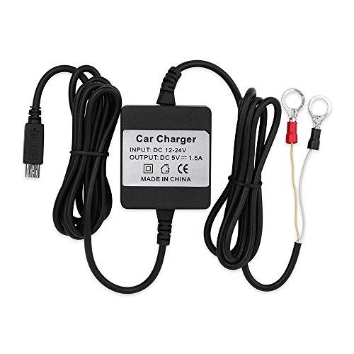 TKSTAR Kfz-Ladegerät für Motorrad, Ladegerät für GPS Tracker USB Adapter Car Charger Adapter tragbar für GPS GSM Tracker Tracker TK905.TK905B TK915.TKMARS905.TK1000 etc., YS128