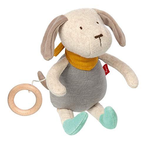 Sigikid, Mädchen und Jungen, Hund Signature Collection, Babyspielzeug, empfohlen ab 0 Monaten, blau/grau, 39023 Spieluhr