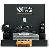 Beard Growth Kit with Microneedling Derma Roller...