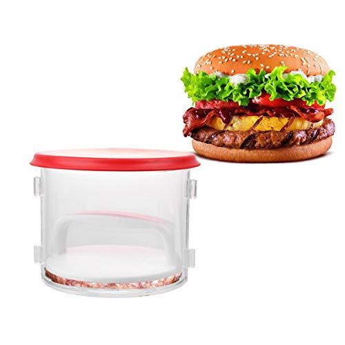Hemoton 1 Juego Conveniente Útil Creativo Molde de Prensa de Masa Hamburguesa Sandwichera Molde de Prensa de Carne para Restaurante de Cocina Casera