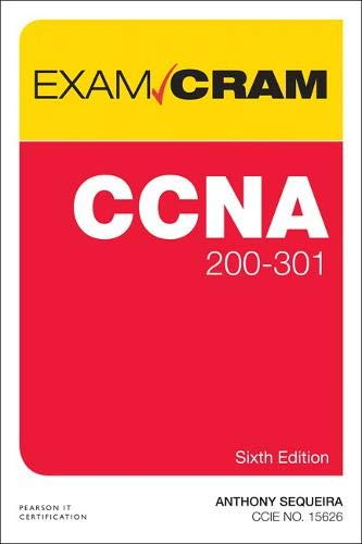 CCNA 200-301 Exam Cram (6th Edition)