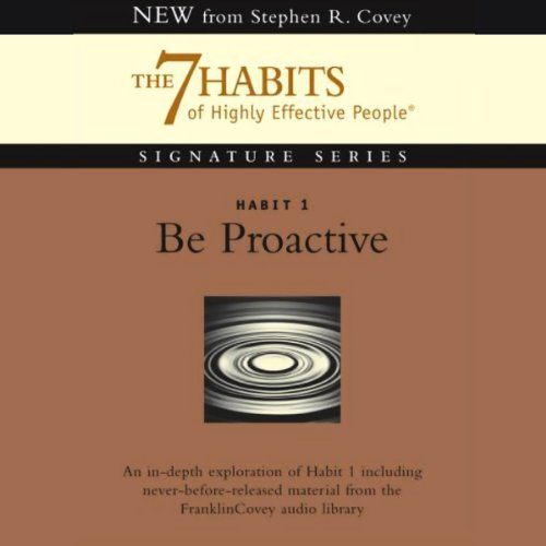 Be Proactive audiobook cover art