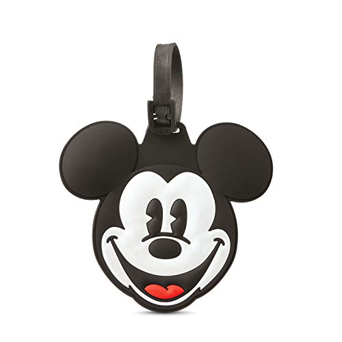 American Tourister Disney Luggage Tag, Mickey Mouse Head