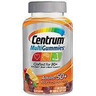 Centrum Multi Gummies Adults 50+ (Pack of 2)