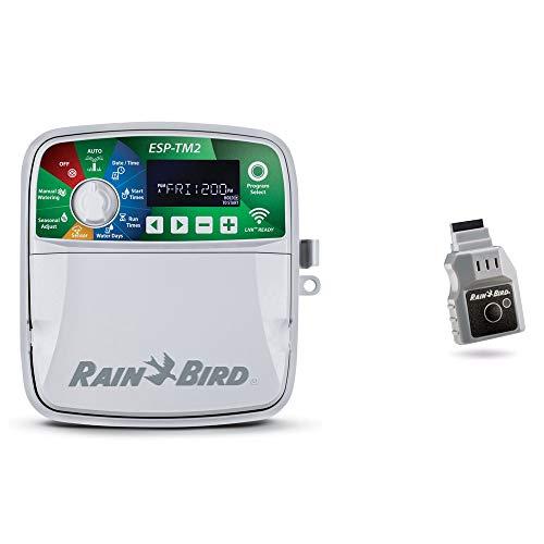 POOL Total Set> Rain Bird Steuergerät ESP-TM2 + LNK WiFi Modul/Bewässerung Beregnung Berieselung Sprinkler 6 Stationen
