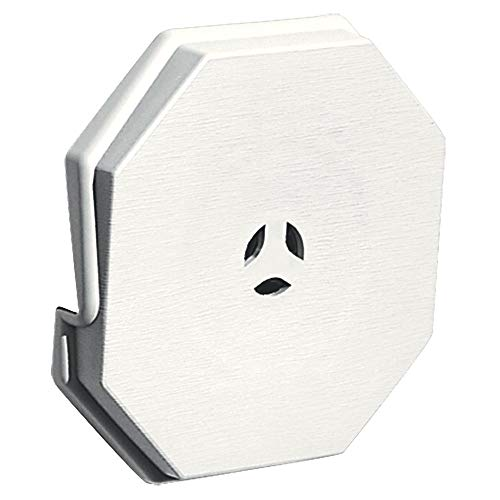Builders Edge 130110006123 Surface Block, White, 3 Pack