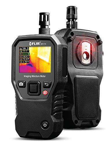 FLIR MR176 Humidimètre d'imagerie avec Mesure Température/Humidité Relative, Noir