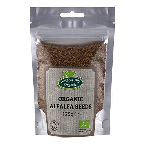 UEYR Las Semillas de Alfalfa orgánica a la germinación orgánico Certificado