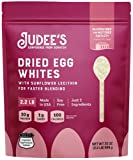 Judee's Egg White Protein Powder for Fast Blending 2.2lb - 100% Non-GMO, Keto-Friendly, Pasteurized - Dairy-Free, Soy-Free, Paleo-Friendly, Gluten-Free & Nut-Free - Made in USA
