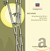 Beethoven: String Quartets Op. 59/3 Rasumovsky & O