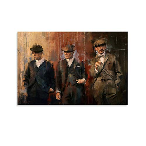 GHRT Peaky Blinders - Póster decorativo para pared (60 x 90 cm)