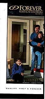 Sales brochure for EMCO Forever Exterior Storm & Screen Doors,