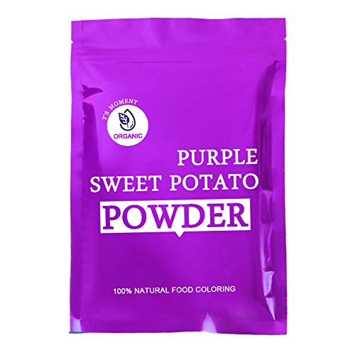 Ube Powder Purple Sweet Potato Powder, 100% Natural Food Coloring Purple Yam Powder (6 oz.) Plant Based, Vegan, Gluten Free, Non-GMO