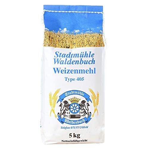 Weizenmehl Type 405, feinste Bäckerqualität, hergestellt in Deutschland (5 kg)