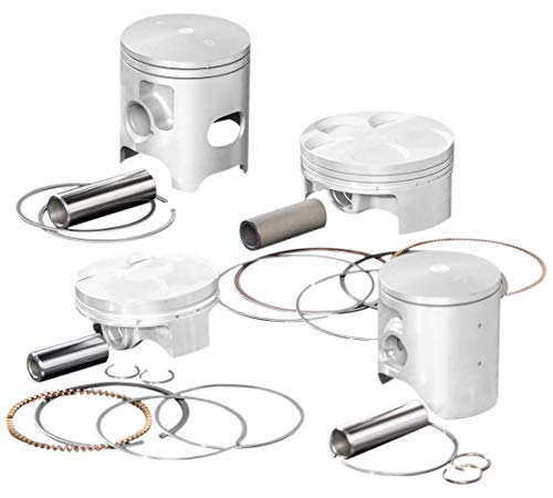 Wiseco 4875M05350 53.50mm 11:1 Compression Motorcycle Piston Kit